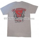 Cave Adventurers Unisex Tribal T-shirt *Gray*