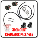Side Mount Regulator Packages