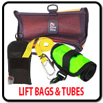 Dive Lift Bags and Tubes