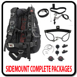 Sidemount Complete Packages