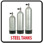 Steel Dive Tanks