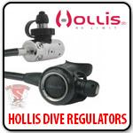 Hollis Dive Regulators